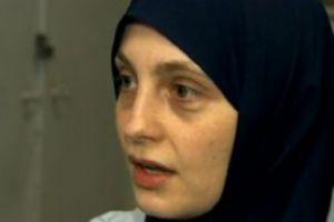Ahlam: muçulmana tem de usar o véu. Foto: Reprodução Rede Globo