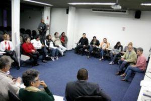 Conselho gestor do projeto reúne catadores, secretários municipais e representantes do Consórcio. Foto: Divulgação