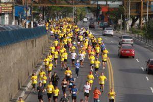 A corrida de Mauá estabeleceu o recorde de participantes no circuito, até o momento. Crédito: Evandro Oliveira/PMM