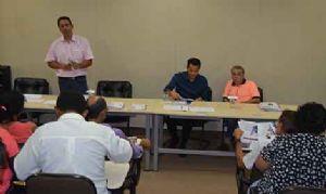 Reunião abordou soluções para diversas questões discutidas durante as 14 plenárias realizadas em 2013. Crédito: Gil Sobrinho