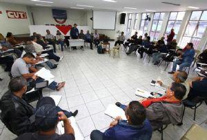 Prefeito participa de café com químicos e apresenta projetos estruturantes. Foto: Roberto Mourão/ PM