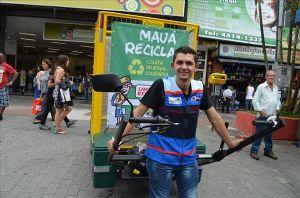 O programa Mauá Recicla é uma das ações mantidas pelo município nessa área. Crédito: Gil Sobrinho