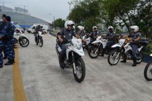 Operação que vai reforçar segurança na cidade continua até meados de janeiro. Foto: Divulgação/PMM