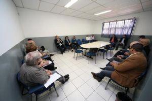 Encontro aconteceu na sede da incubadora no bairro são João. Foto: Evandro Oliveira/PM