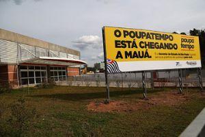 Decisão da Justiça poderá atrasar entrega do Poupatempo de Mauá. Foto: Andris Bovo