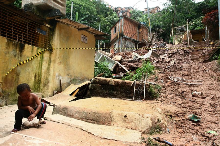 Iniciativa vai ajudar a prevenir deslizamentos como o ocorrido no Morro do Macuco. Foto: Amanda Perobelli
