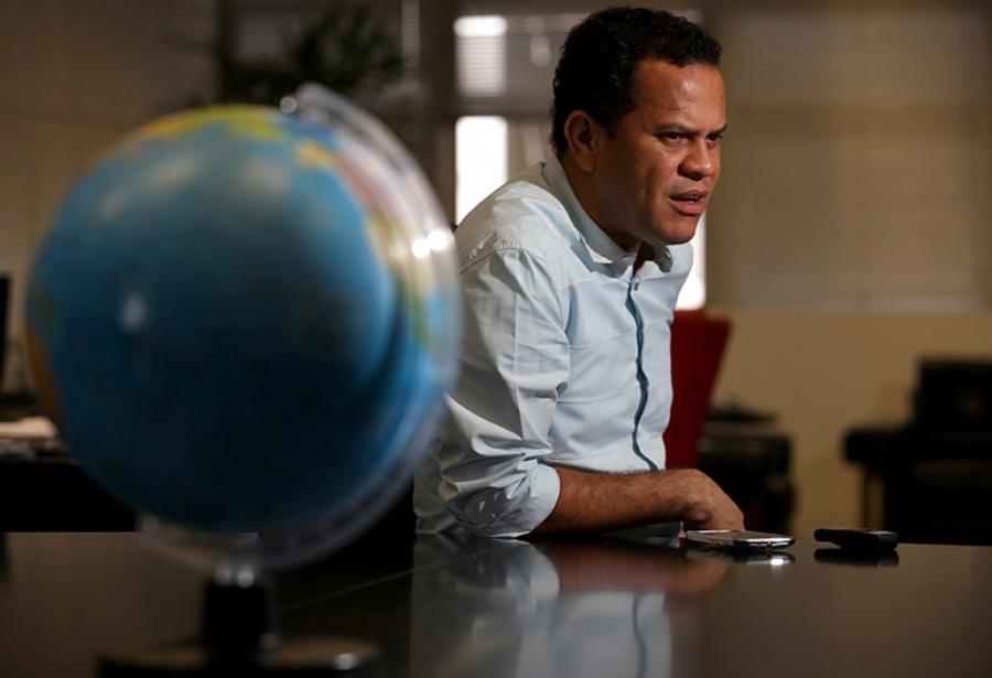 Prefeito afirma que já encmainhou projetos juntamente ao governo federal da ordem de R$ 500 milhões. Foto: Andris Bovo