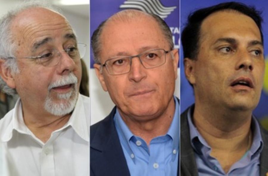 A exemplo de 2012, Alckmin volta a ter dois aliados disputando votos em Mauá. Fotos: AndrisBovo/Edu Guimaraes/Rodrigo Pinto