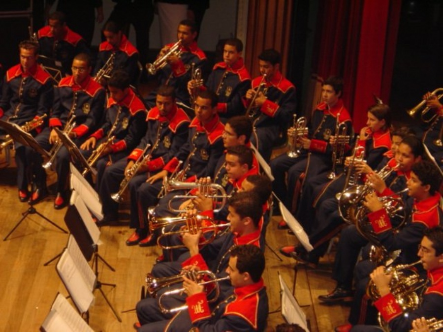 Corporação Musical Lyra de Mauá. Foto: Prefeitura Municipal de Mauá