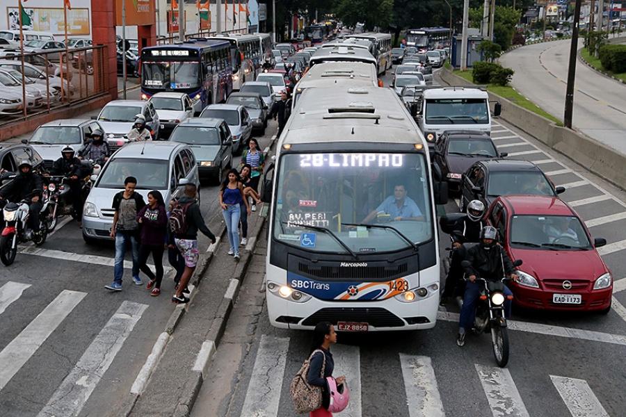São Bernardo terá 302 ônibus em circulação no sábado e 210 no domingo. Foto: Andris Bovo