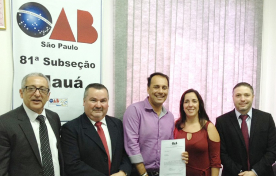 Atila é recebido pela diretoria do OAB de Mauá e reforça compromisso com Assistência Judiciária