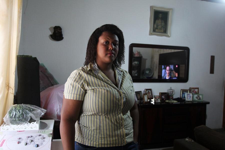 Segundo funcionário da loja, Janaina tem 'perfil padrão' para ser observado. Foto: Rodrigo Pinto