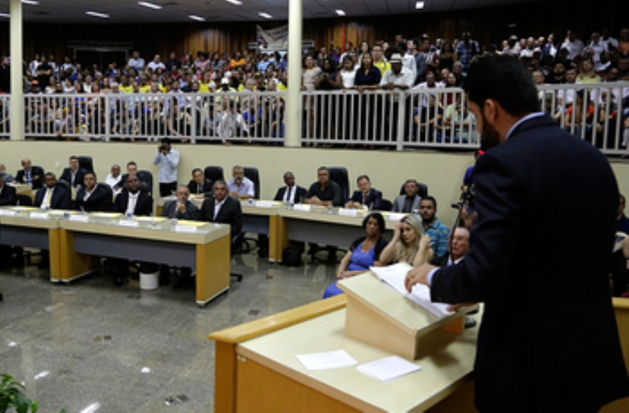 Câmara de Mauá realiza nesta terça primeira sessão ordinária do ano. Foto: Tiago Silva