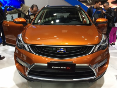 Geely Emgrand GS (Foto: Peter Fussy/G1)