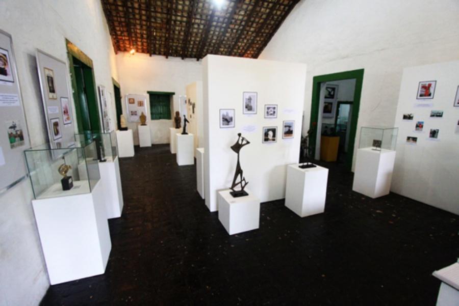 Estão expostas 17 esculturas, todas inéditas na região do ABC. Crédito: Caio Arruda/PMM