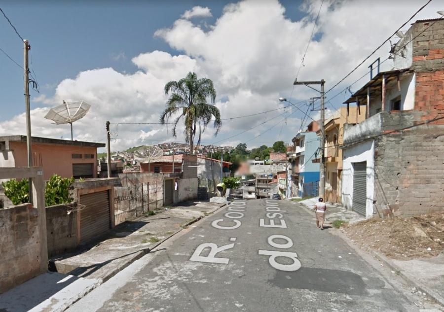 Rua Condé Adélino do Espírito Santo, no Jardim Zaíra, em Mauá .Foto: Google Maps.