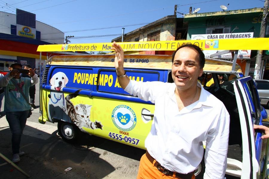 Serviço é pioneiro no atendimento de animais de famílias de baixa renda na região. Crédito: Roberto Mourão/PMM