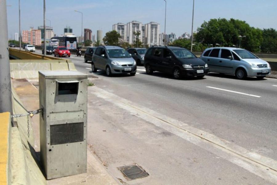 Equipamentos móveis foram retirados das vias de Santo André (Foto Divulgação)