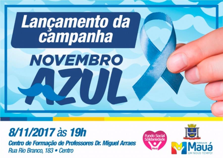 Lançamento da Campanha Novembro Azul. Crédito: divulgação