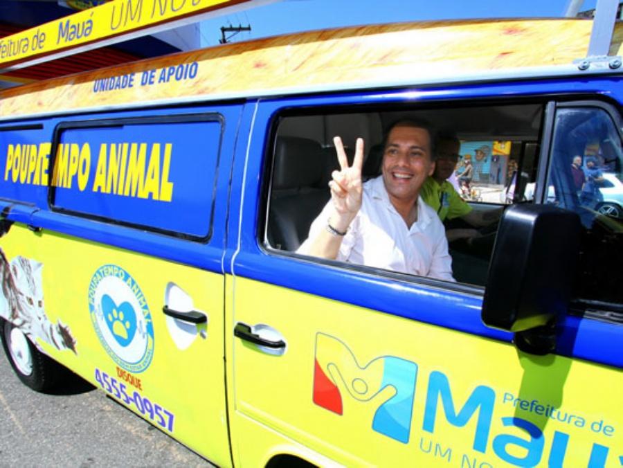 Serviço pioneiro foi criado pela Prefeitura de Mauá e fica a cada semana em um bairro diferente da cidade. Foto: Roberto Mourão/PMM