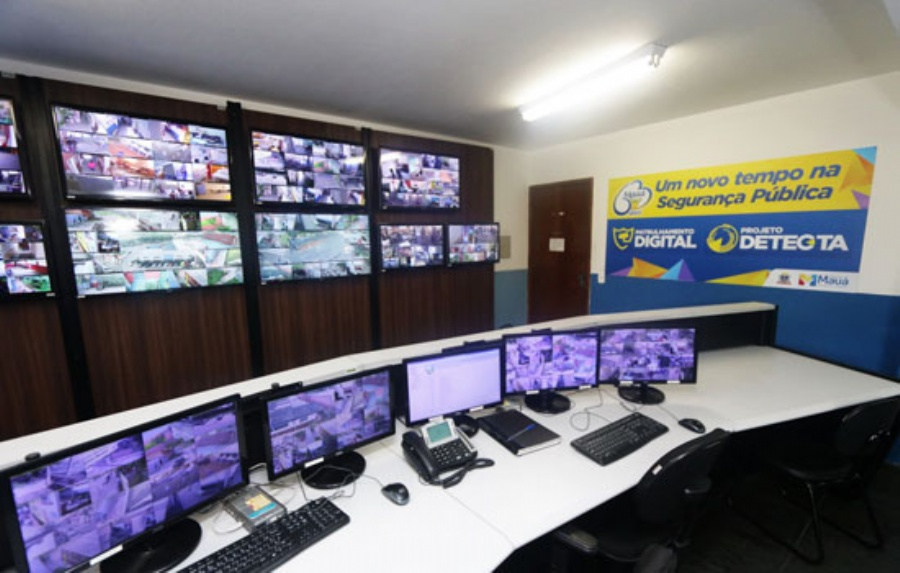 Sistema de Patrulhamento Digital da GCM. Crédito: Caio Arruda/PMM