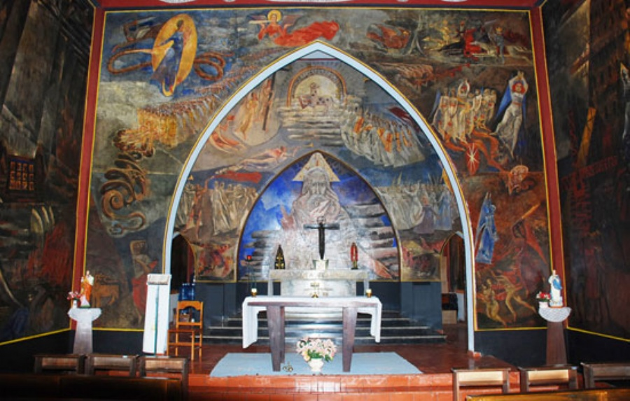 Capela Cristo Rei. Crédito: divulgação