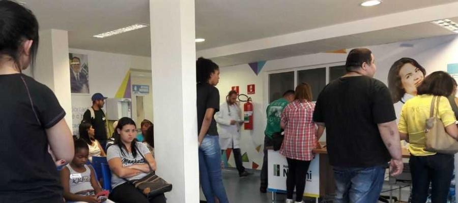 Pacientes elogiam reforma do equipamento de Saúde de Mauá e reclamam da demora para atendimento. Foto: Claudinei Plaza/DGABC