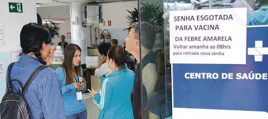 Campanha contra a febre amarela começa no dia 3 de fevereiro; apenas S.Caetano não será contemplada. Foto: Claudinei Plaza/DGABC