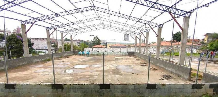 Entrega de reforma do Centro Esportivo Dorival Rezende da Silva estava prevista para setembro. Foto: Celso Luiz/DGABC