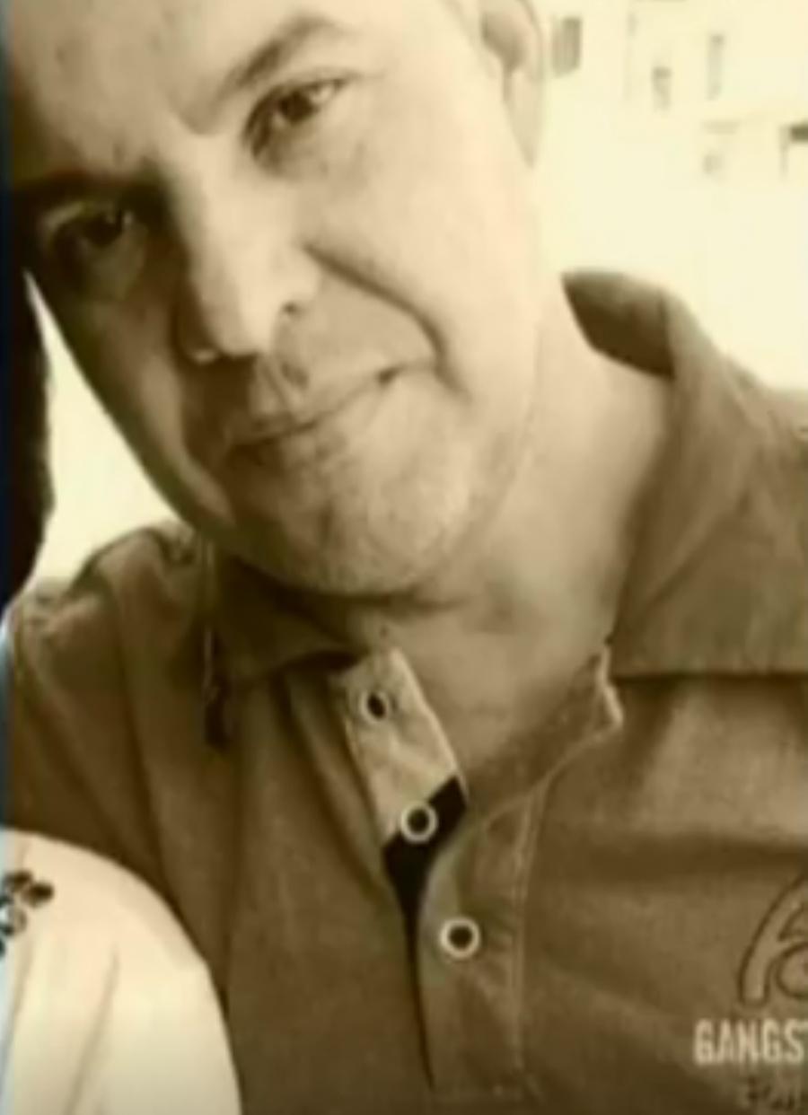 O pai, José Roberto, foragido, ele e a filha, há mais de 10 dias.