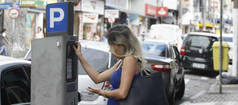 Áreas comerciais dos bairros Jardim, Santa Terezinha, Bela Vista e do Tersa terão espaços de estacionamento rotativo a partir do dia 19. Foto: Nario Barbosa/DGABC