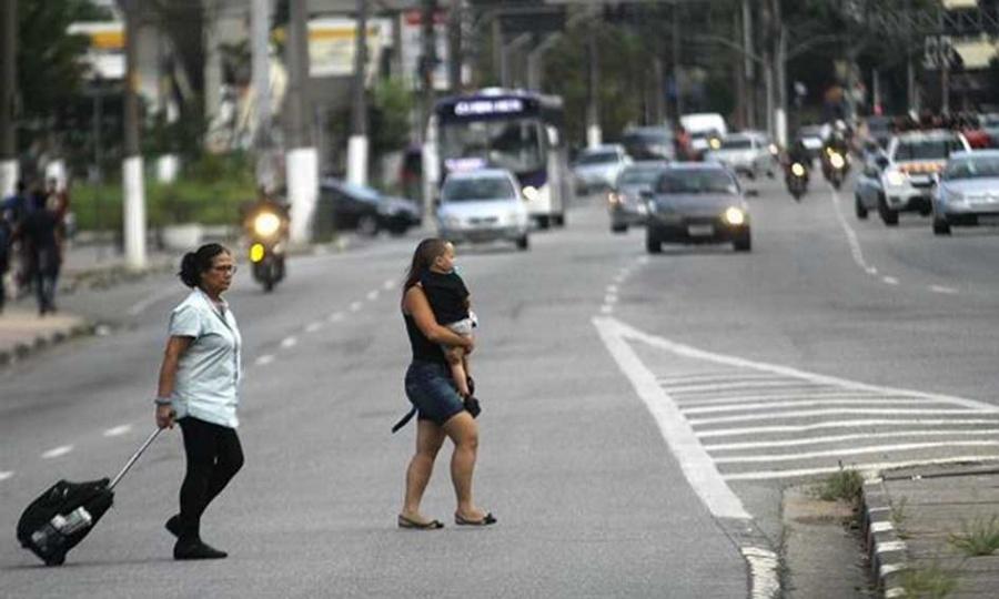 Em fevereiro, foram registradas nove vítimas fatais, contra 18 óbitos no mesmo período do ano passado; pedestres são os principais afetados. Foto: Nario Barbosa/DGABC