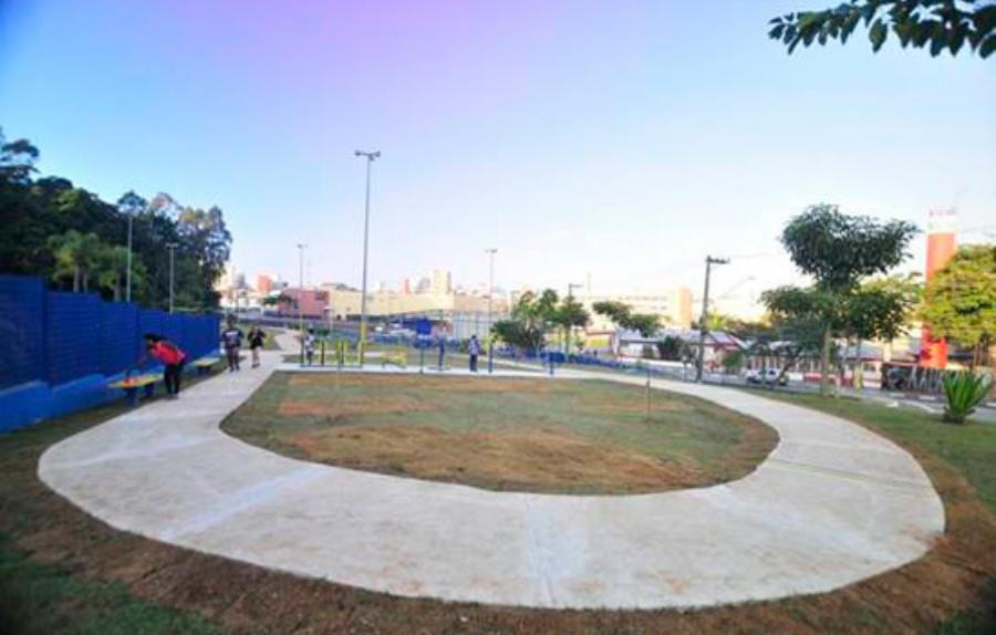 Praça da Vila Magini. Crédito: divulgação