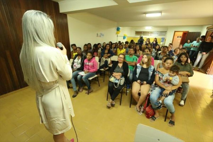 Programa oferece conscientização sobre o cuidado que as mulheres devem tomar durante a gravidez. Foto: Caio Arruda