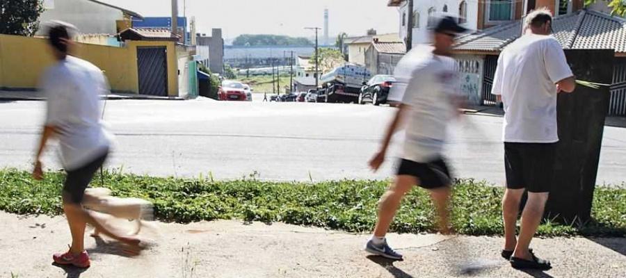 Moradores dos parques São Vicente e Marajoara reclamam da falta de Segurança. Foto: André Henriques/DGABC