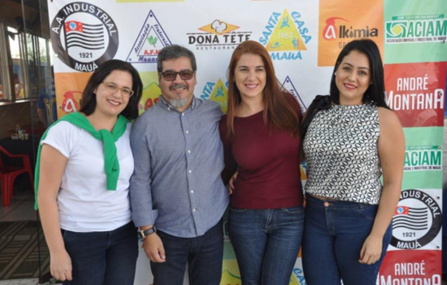 Michelli Martins, Eliseu Rodrigues, Erica Ieiri e Joyce Lourencetti. Crédito: divulgação