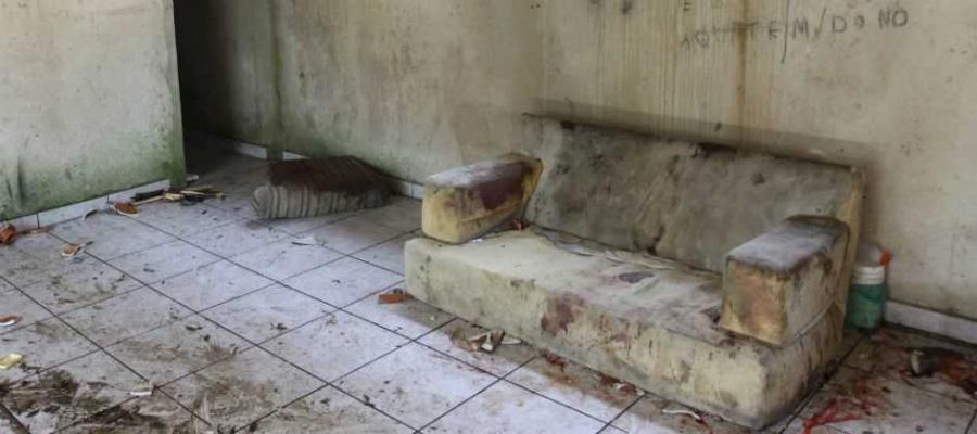 Juarez Pereira Cardoso, 44, morava no local, no Parque Andreense, há três anos. Foto: André Henriques/DGABC