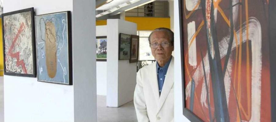 Artista da região, Yasuichi Kojima ganha mostra em Mauá para celebrar 50 anos de pintura. Foto: André Henriques/DGABC